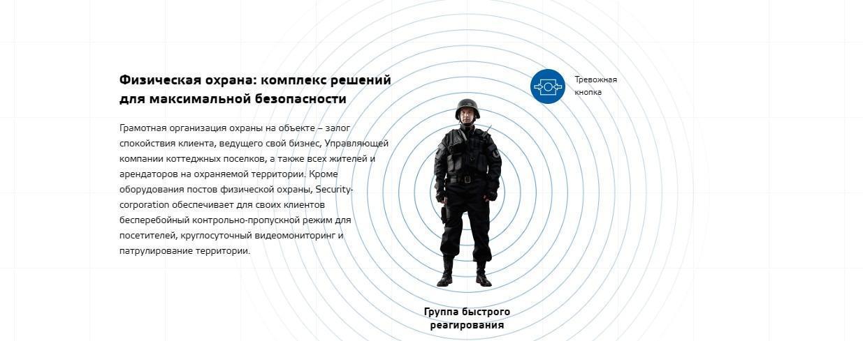 Установка пультовой охраны